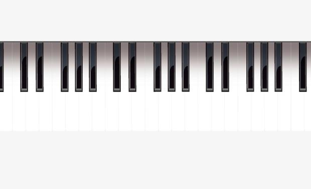 Music Keyboard PNG HD - 139676