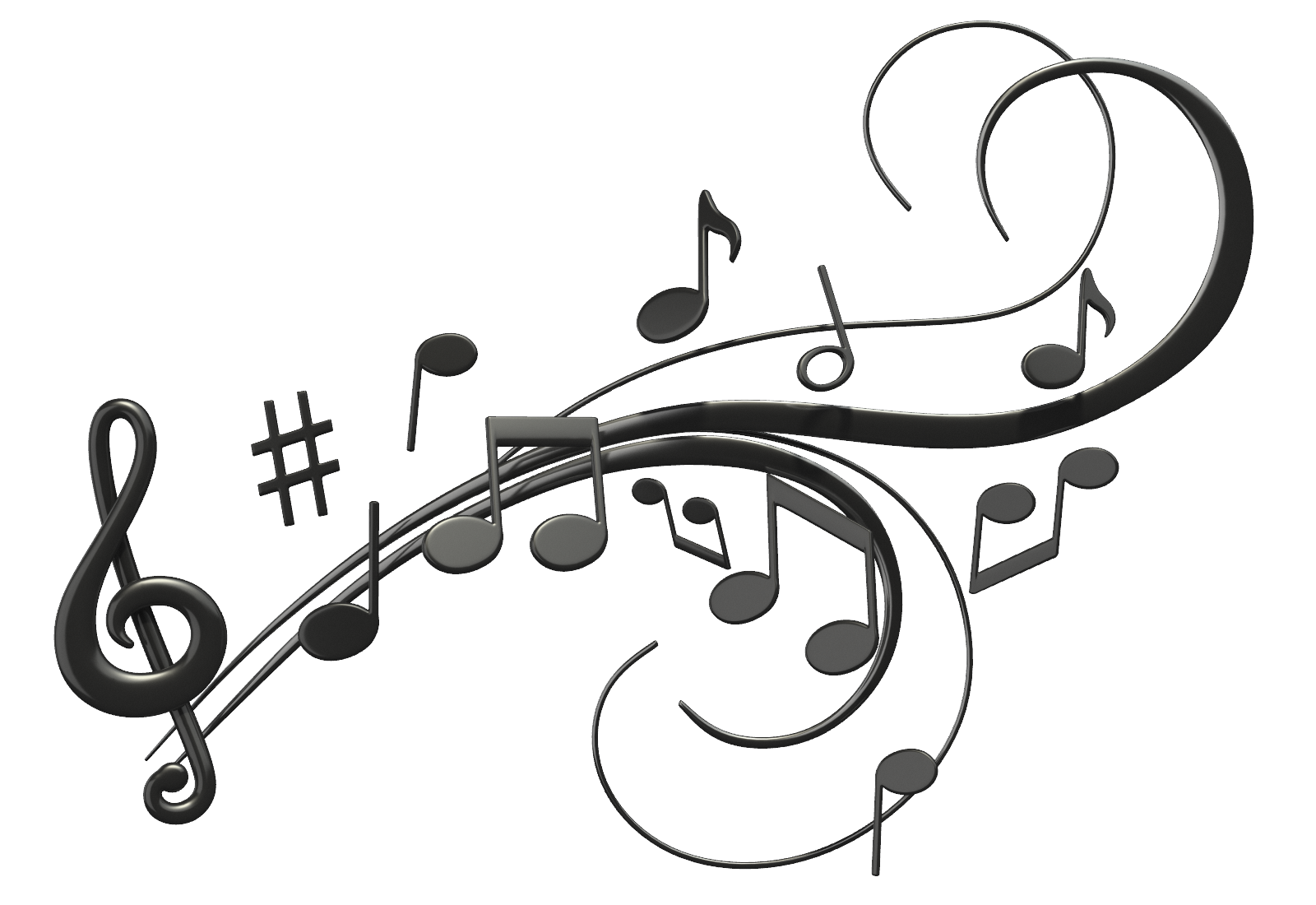 Musical Notes PNG - 5796