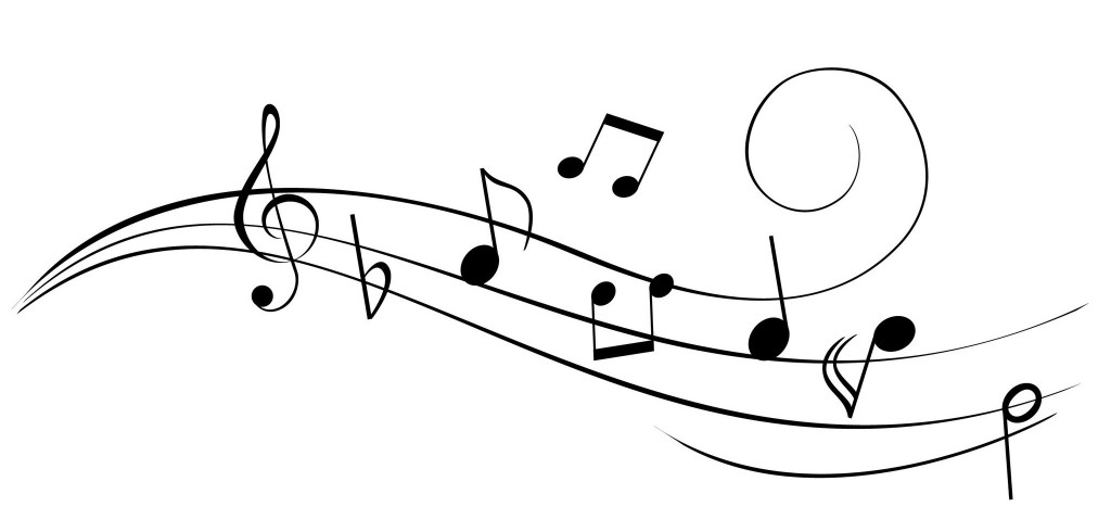 music notes png hd transparent music notes hd png images Number 3 Clip Art Black Black and White Printable Numbers