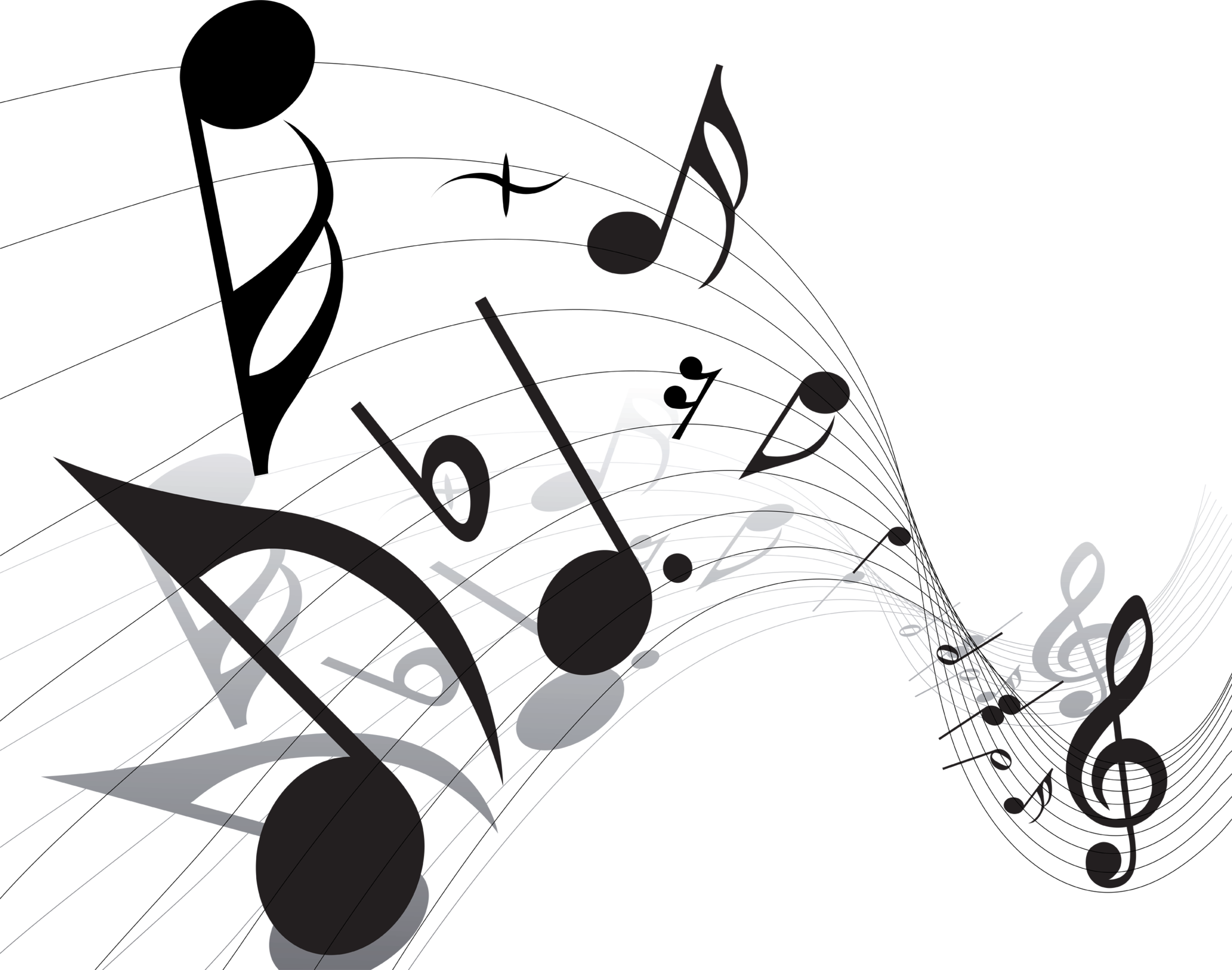 Music notes PNG - Music PNG