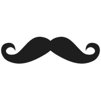 No Shave Movember Day Mustache Png Image PNG Image - Mustache PNG