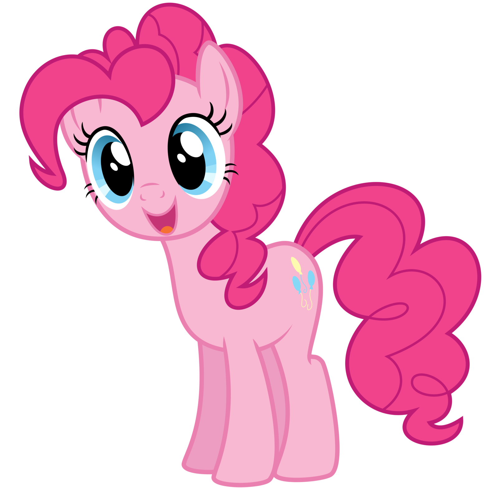 Image - FANMADE Happy pinkie pie by thatguy1945.png | My Little Pony  Friendship is Magic Wiki | FANDOM powered by Wikia - My Little Pony HD PNG