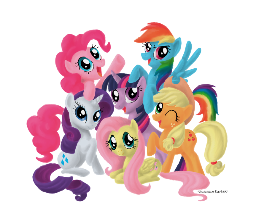 My Little Pony by Dark337 PlusPng.com  - My Little Pony HD PNG