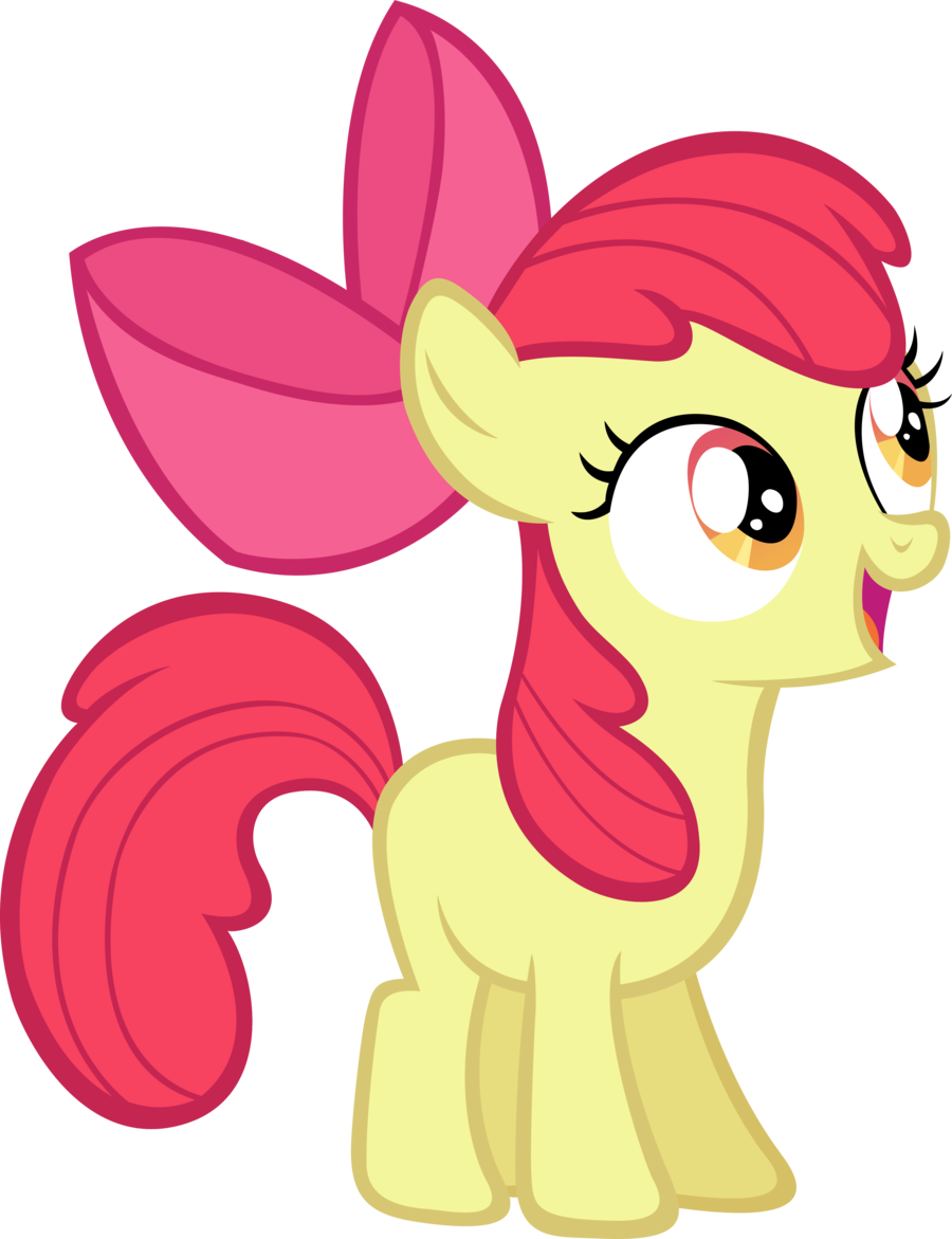 LilCinnamon 228 18 Apple Bloom by LilCinnamon - My Little Pony PNG