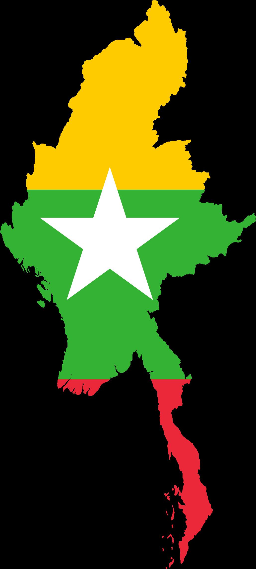 Myanmar Flag PNG - 78330
