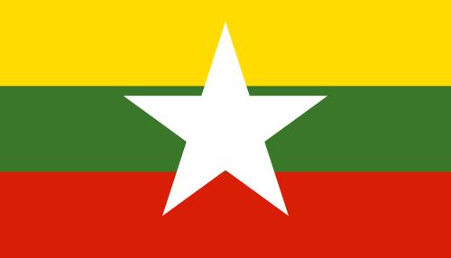 New flag of Myanmar - Myanmar Flag PNG