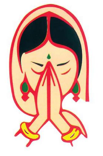 Namaskar Hand PNG - 74319