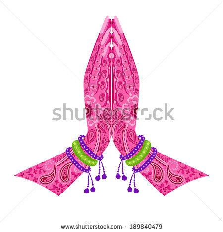 Namaskar Hand PNG - 74331