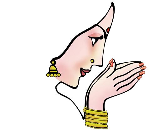 Namaskar Hand PNG - 74325