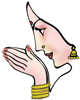 Namaskar Hand PNG - 74324