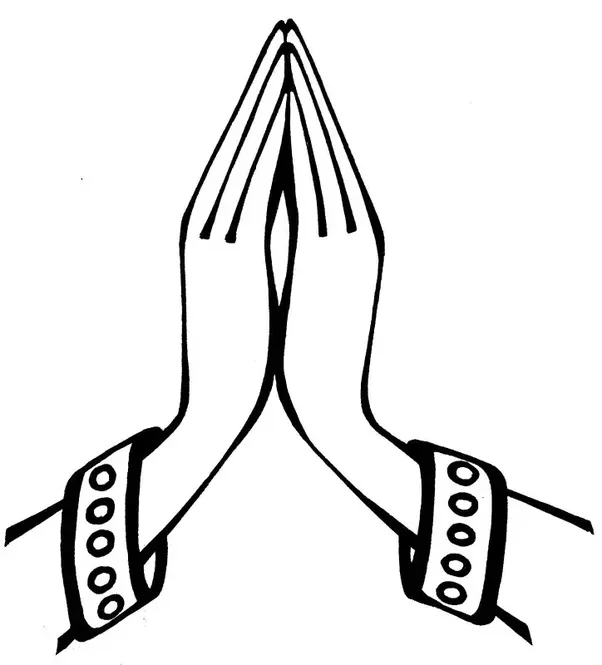 Namaskar Hand PNG - 74320