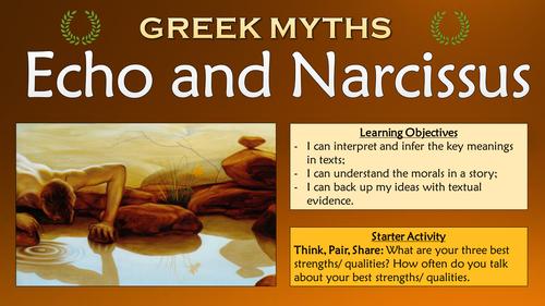narcissus and echo myth pdf