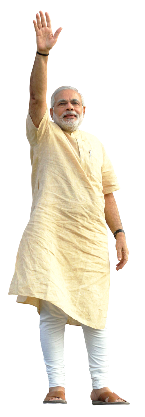 Narendra Modi PNG Transparent