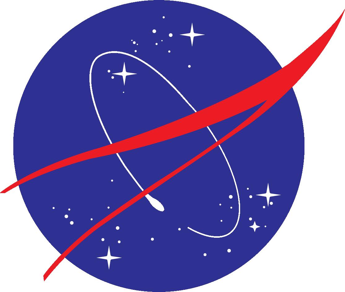 Man on the Moon - Nasa Logo PNG