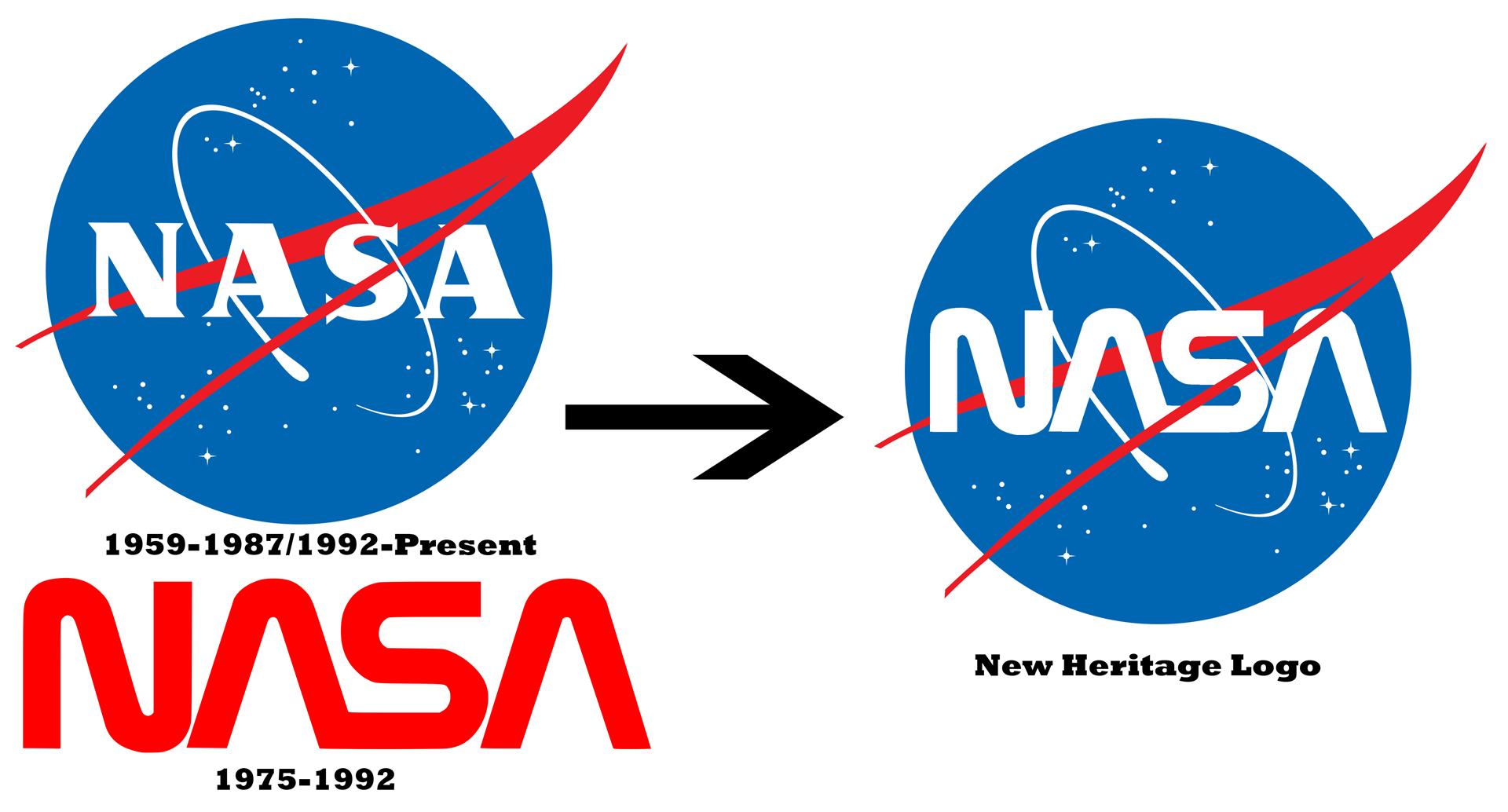 New NASA logo I made. - Nasa Logo PNG