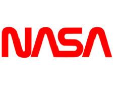 The word NASA in a unique typeface - Nasa Logo PNG