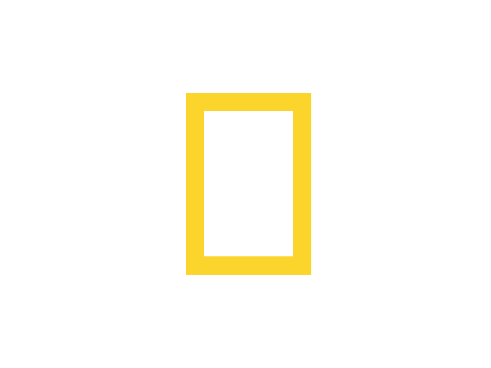 National Geographic Channel Logo PNG-PlusPNG.com-1600 - National Geographic Channel Logo PNG