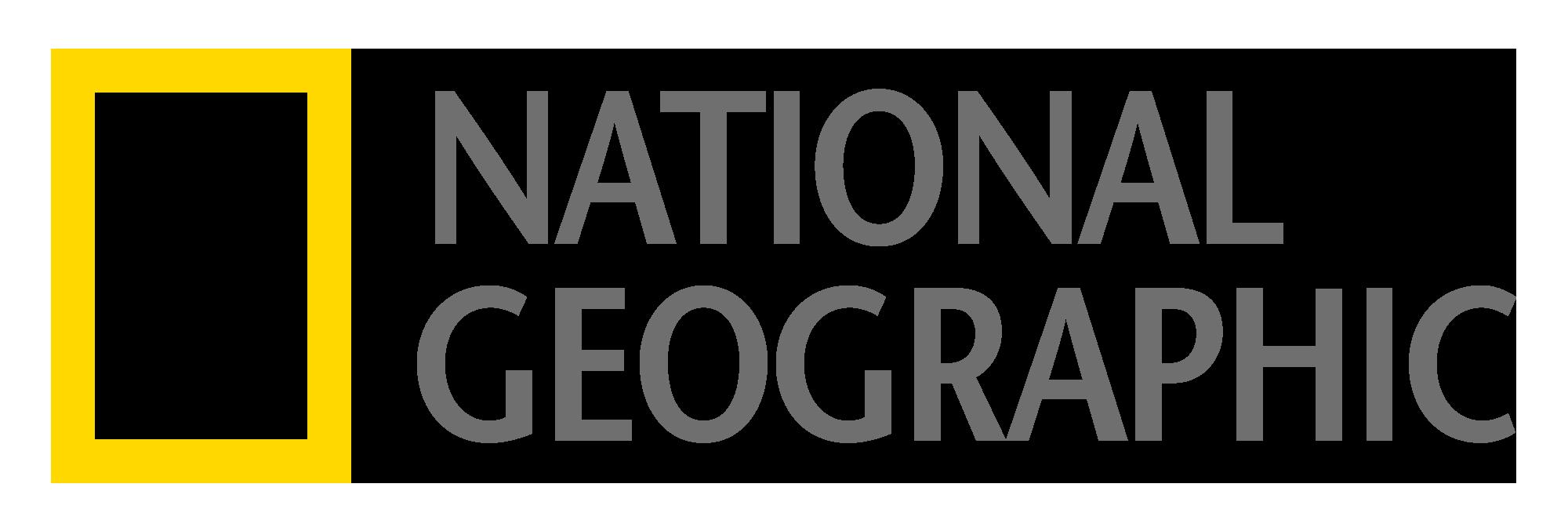 NG_LOGO_gray.png - National Geographic Logo PNG