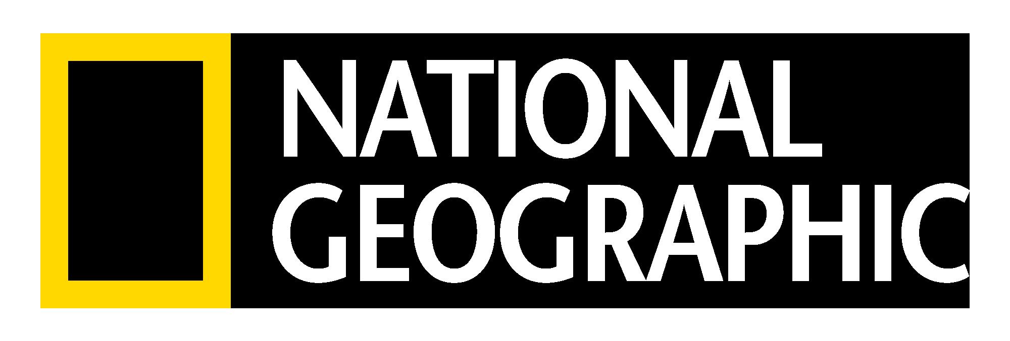 NG_LOGO_white.png - National Geographic Logo PNG