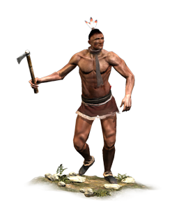 Native American Man PNG