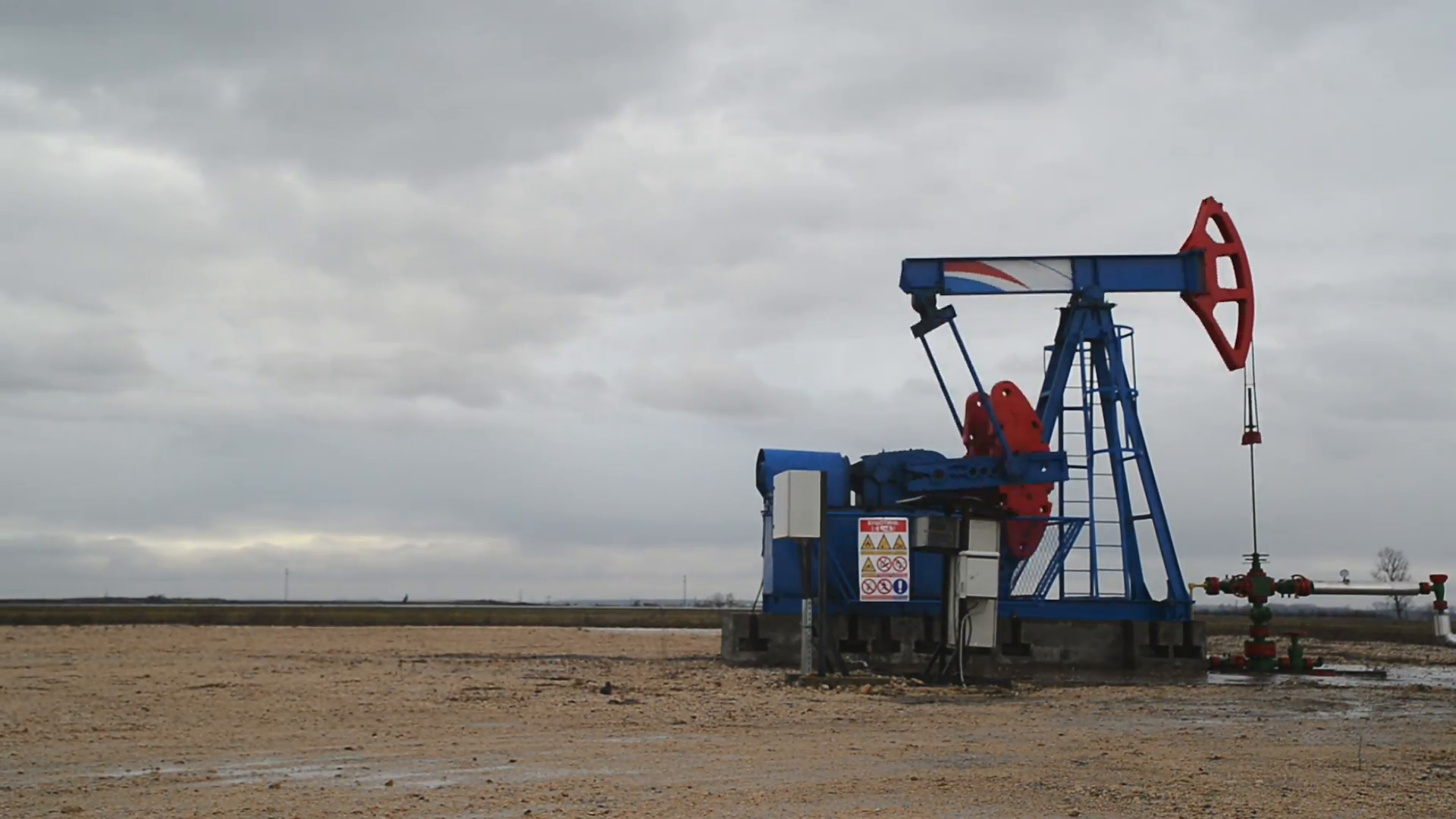 Pumpjack Oil Pump Operating On Natural Gas In The Field Pumping From The  Oil Well. 1920x1080 Timelapse Full Hd Footage. Stock Video Footage -  VideoBlocks - Natural Gas PNG HD