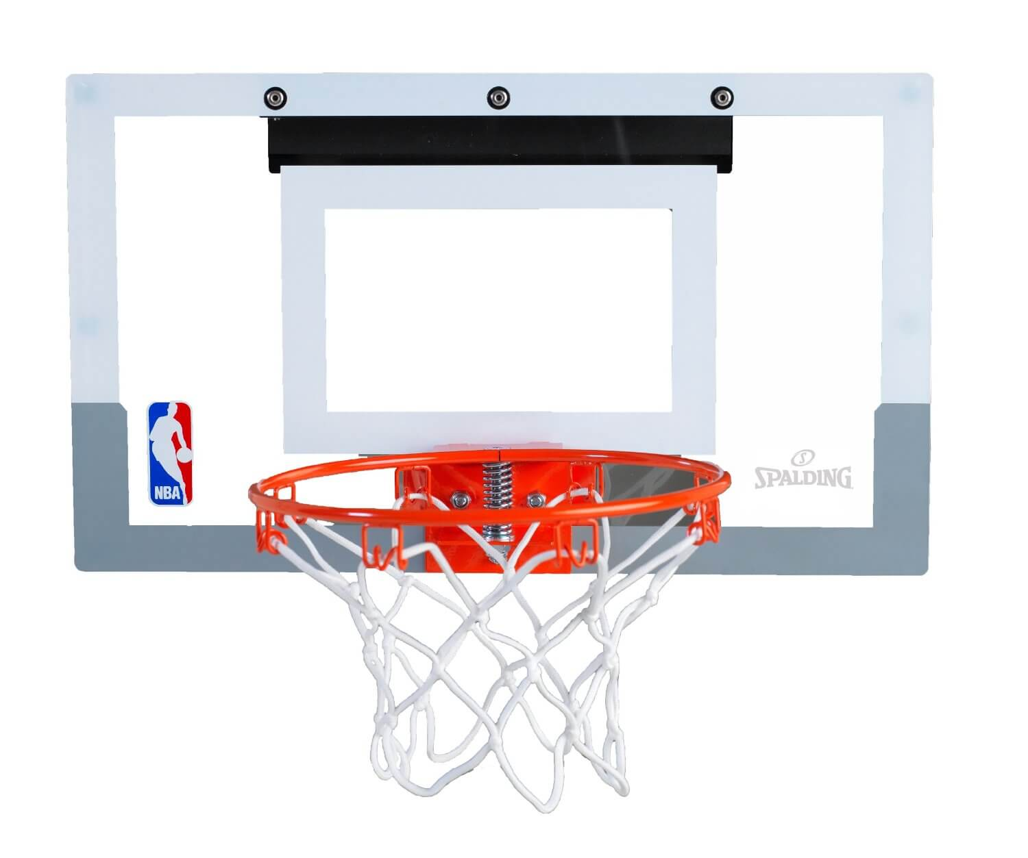 Another one of the great basketball hoops for kids is the Spalding NBA Slam  Jam Mini Basketball Hoop. The breakaway rim is similar to the one seen on  the PlusPng.com  - Nba Basketball Hoop PNG