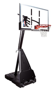 Spalding NBA Portable Basketball System. spalding NBA - Nba Basketball Hoop PNG