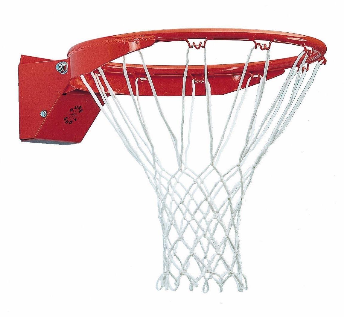 Sure Shot Ultra Heavy Duty Ring - Nba Basketball Hoop PNG