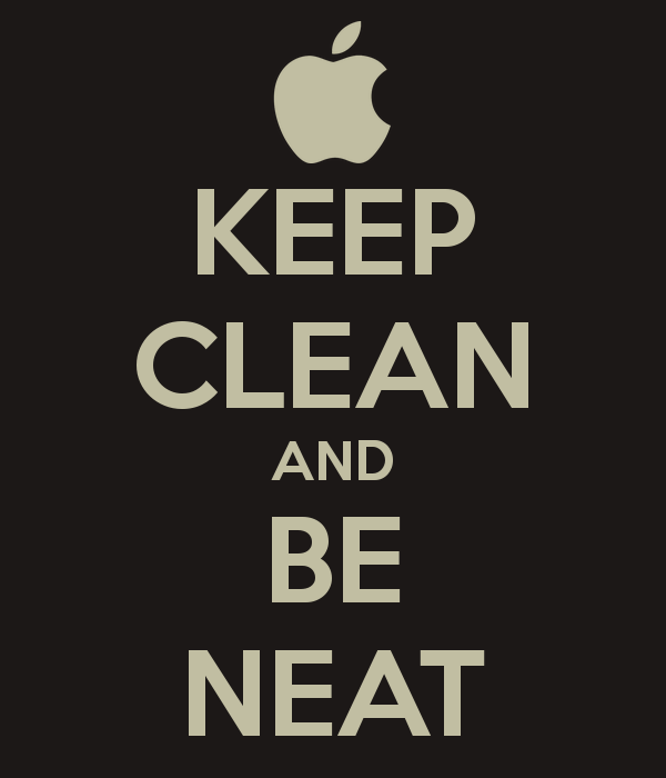 KEEP CLEAN AND BE NEAT - Neat And Clean PNG