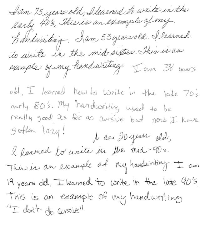 Neat Handwriting PNG - 75018