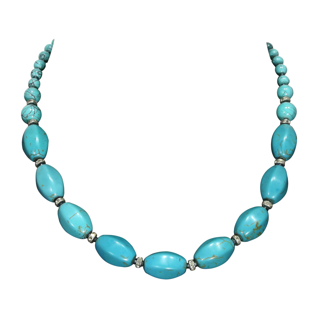 Turquoise necklace png by Adagem - Necklace PNG