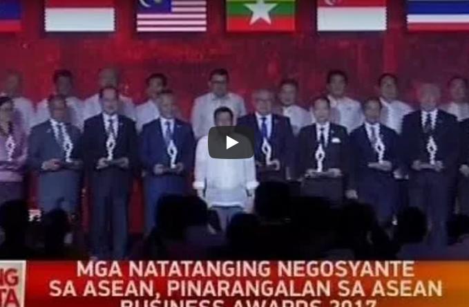 Mga natatanging negosyante sa ASEAN, pinarangalan sa ASEAN Business Awards  2017 - Negosyante PNG