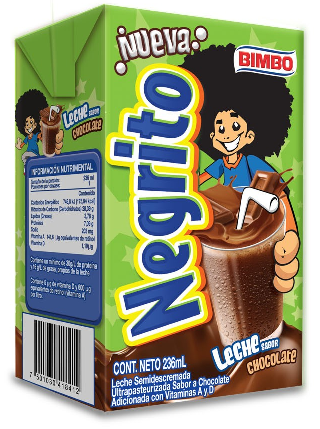 Leche Negrito Bimbo - Negrito PNG