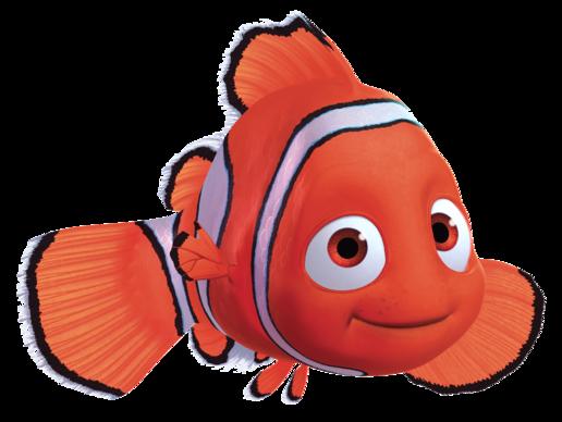 Nemo Fish PNG Black And White - 154363