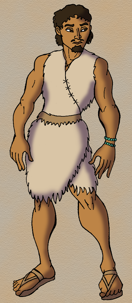 Shul the Neolithic War-Chief - Neolithic People PNG