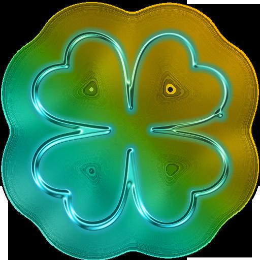 Neon Flower PNG - 74642