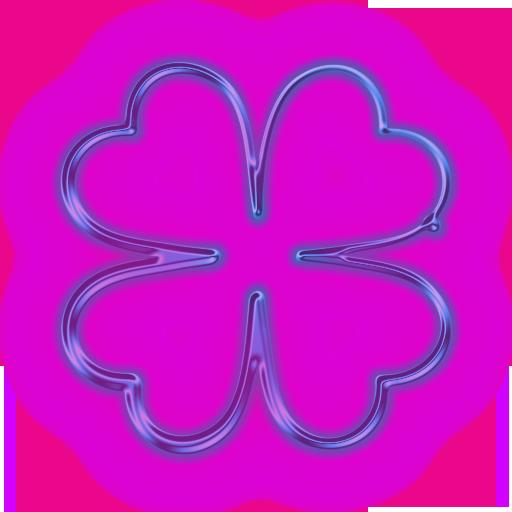 Neon Flower PNG - 74646