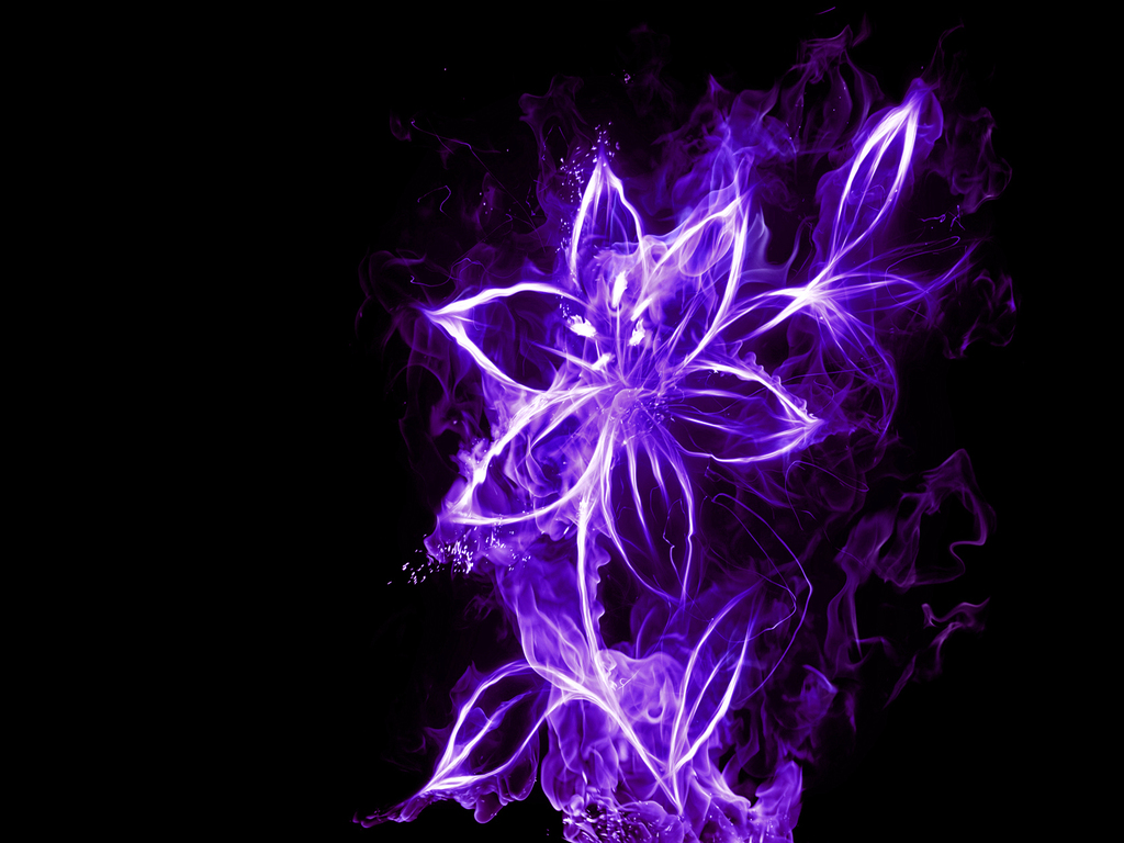 Neon Flower PNG - 74644