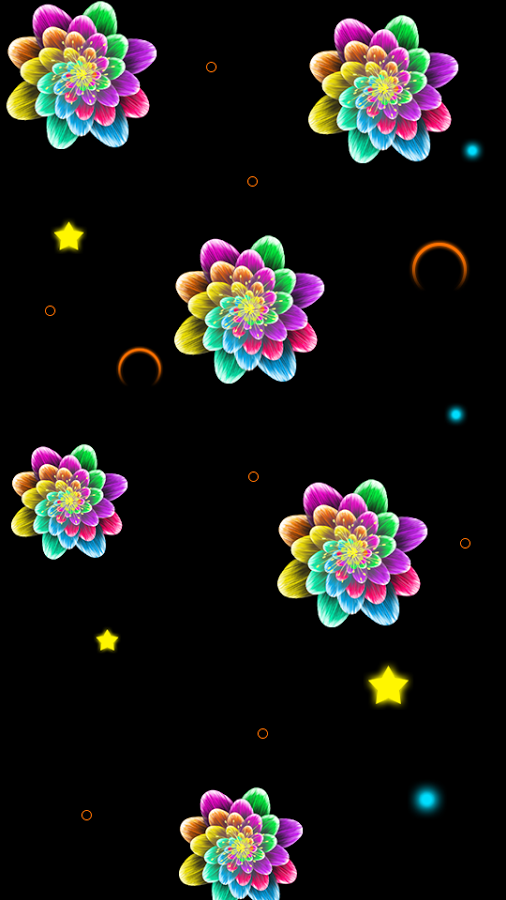 Neon Flower Png Transparent Neon Flower Png Images Pluspng