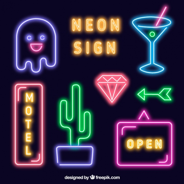 Neon Sign PNG - 78411