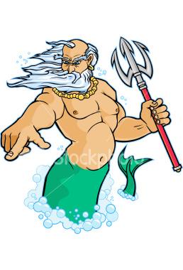 Neptune God PNG - 74544