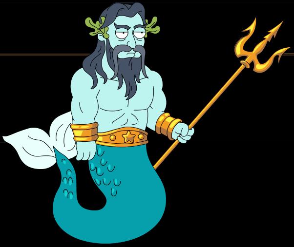 Neptune God PNG - 74555