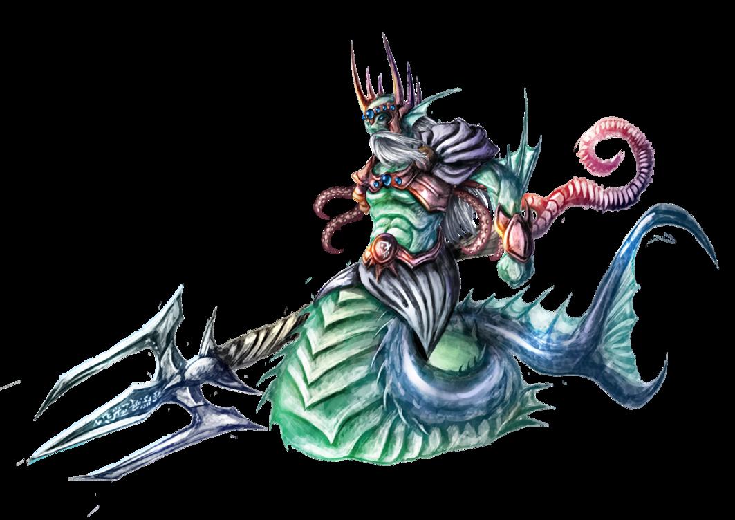 Neptune God PNG - 74551