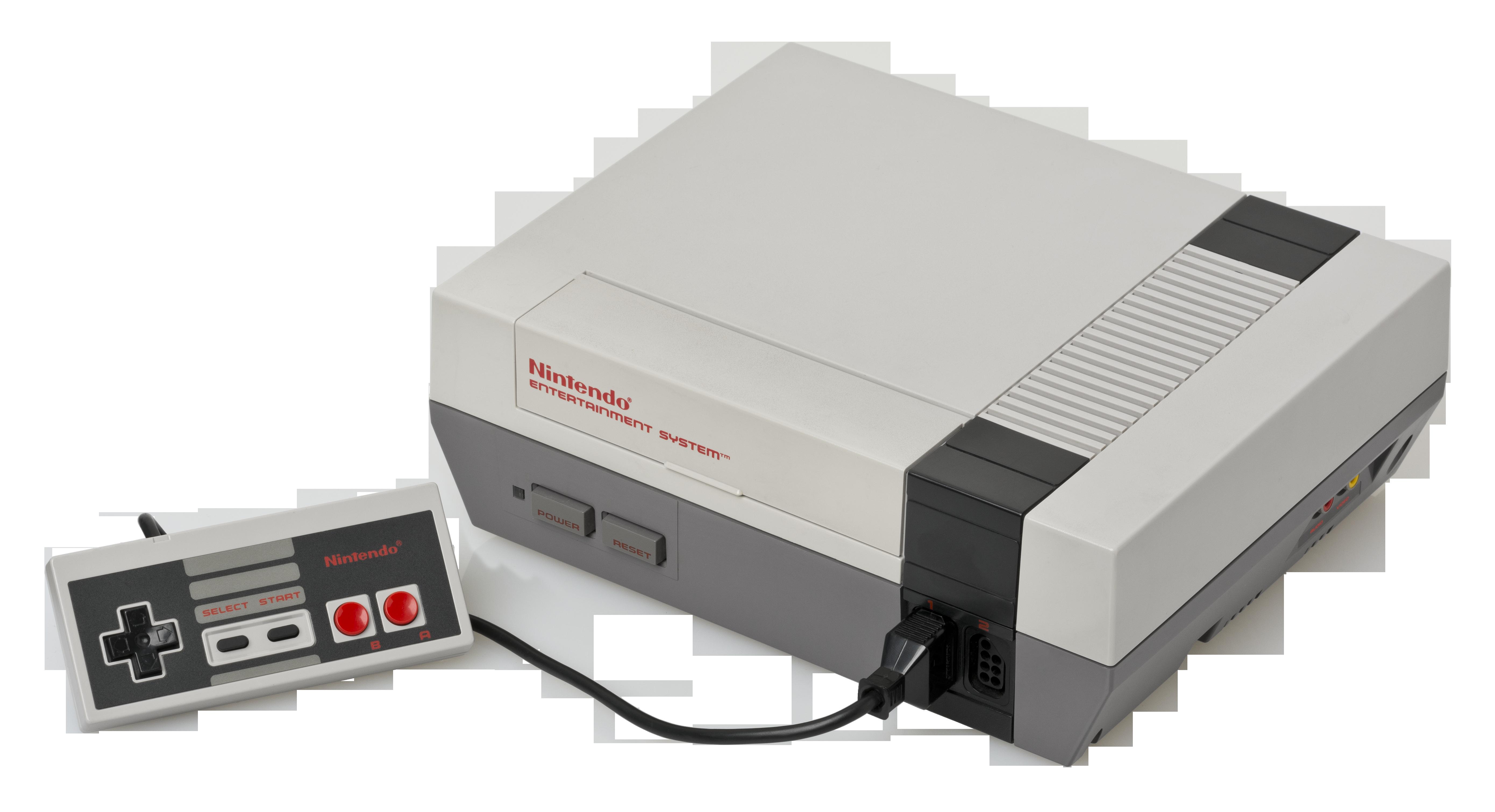 File:NES-Console-Set.png - Nes PNG