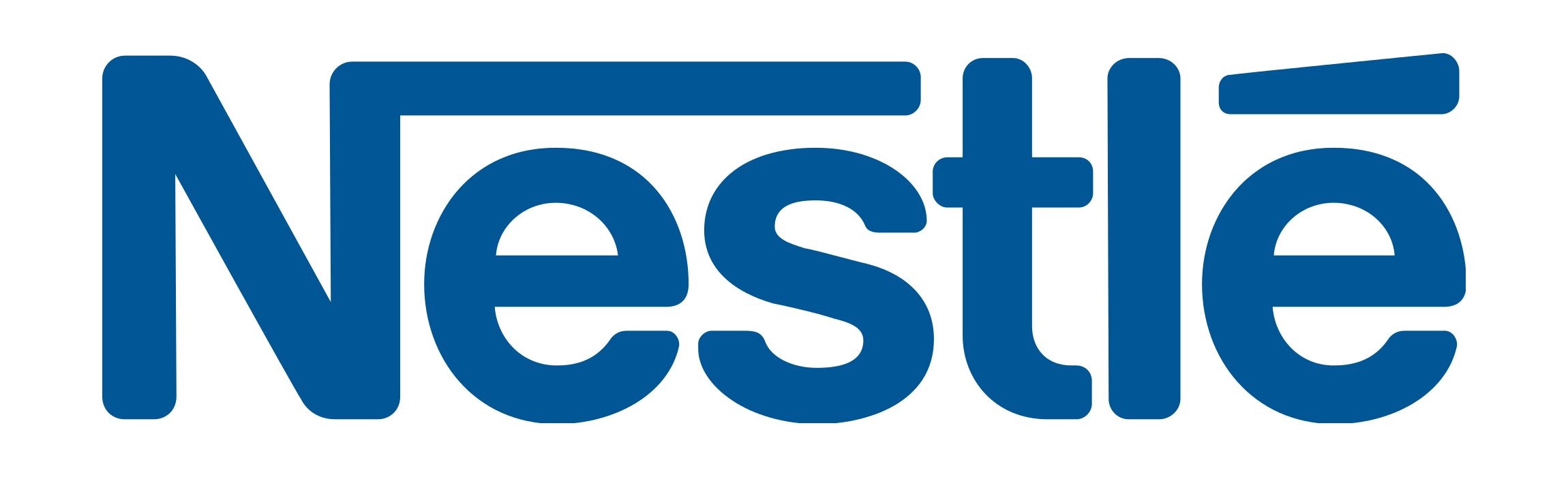 Font of the Nestle Logo - Nestle Logo PNG