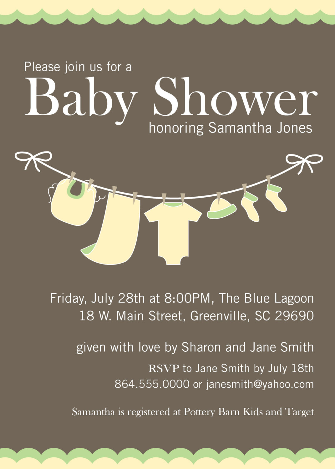 Gender neutral baby shower invitations as an additional inspiration for a  attractive baby shower invitation design with attractive layout 1 - Neutral Baby Shower PNG