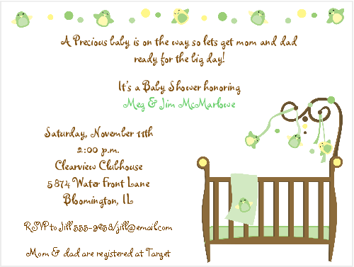 Happy Bird, Gender Neutral Baby Shower Invitations - Neutral Baby Shower PNG
