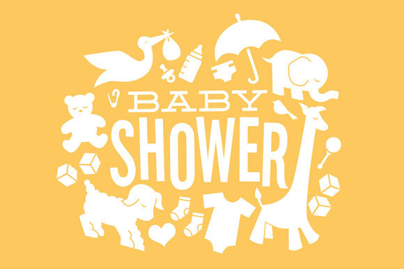 Neutral Baby Shower Clipart 13 - Neutral Baby Shower PNG