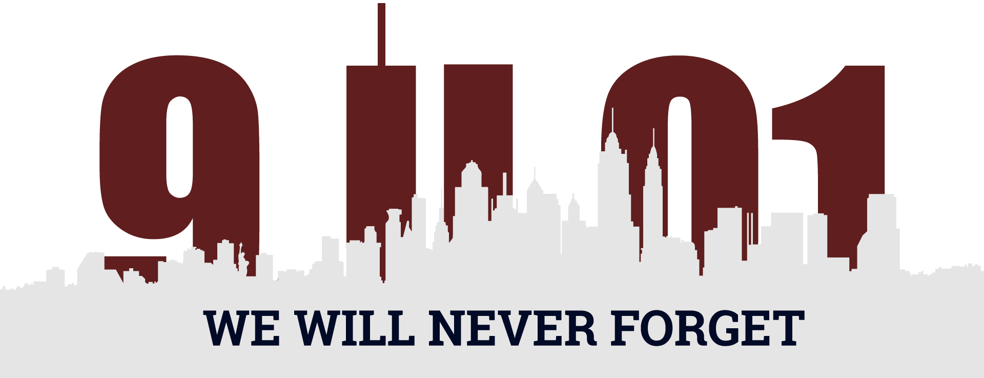 9/11 Victim Compensation Fund - Zadroga Act Benefits Claims - Never Forget 9 11 PNG