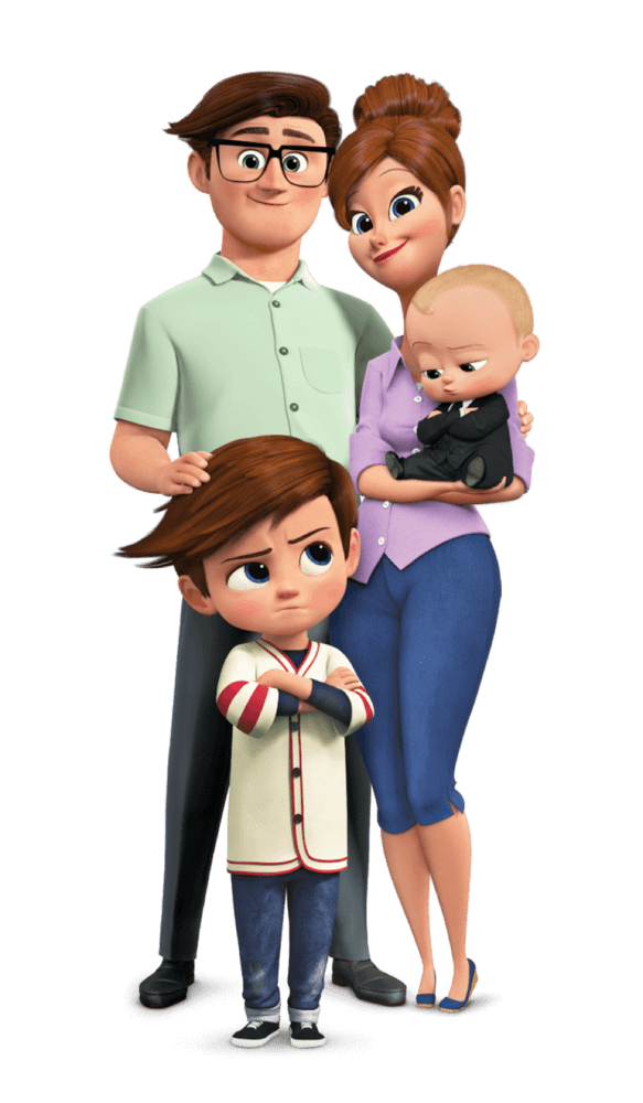 This monthu0027s Family Movie Night is a super fun one! The Boss Baby Special  Edition is available today on Blu-Ray, DVD, and Digital HD, and it is a fun  PlusPng.com  - New Family With Baby PNG